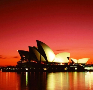 Sydney-Australia-Opera-House-At-Sunset